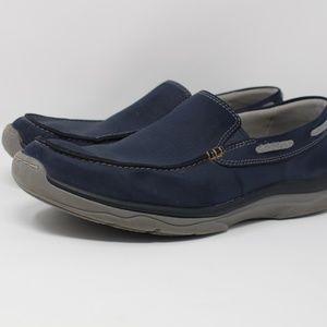 Clarks Men's Size 11.5 Blue Cloud Steppers Shoes
